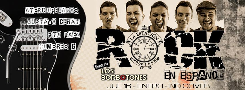 ROCK EN ESPAÑOL – LOS BORBOTONES